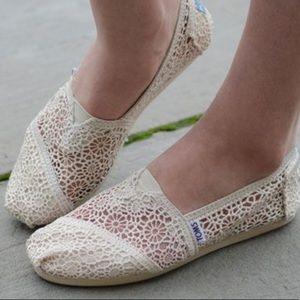 TOMS Women Crochet shoes